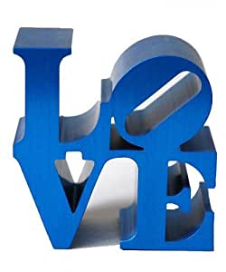 "Presse papier ""Love"" bleu de Robert Indiana"