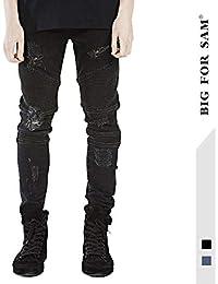 b734240b65240 ZX Jeans De Hombre 2018 Men´S Europe Y Los Estados Unidos Tide Brand Slim