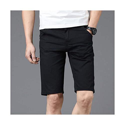 FJLOKE& Shorts Men Men's Bermuda Masculino Hombre Homme Masculino Short Breeches Cargo Denim Pantalon Corto Hombre Man Color 2 34 Fit Breeches