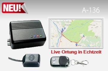 Preisvergleich Produktbild Mobi-Click Autoalarmanlage A-136 mit GPS-Live-Ortung-Portal