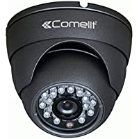 Comelit SCAM638A/G Telecamera Minidome 1000 TVL, Obiettivo Varifocale 2.8-12 mm,