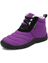 Pastaza Stivaletti Caviglia Uomo Donna Stivali da Neve Invernali Outdoor Caldo  Scarpe Boots 6b72ae3d40c