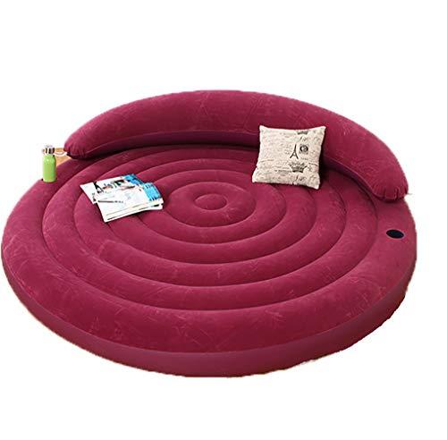 Aufblasbares Sofa Luftbett Lounge Aufblasmöbel Bequemen Für Das Home Office Draussen Romantisches Rosa