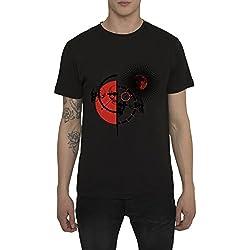 Camisetas Estampadas Estilo Rock Vintage, Ropa Moda Urbana para Hombre, T-Shirts con Estampado de Metal - RED MATADOR Camiseta Negra Blanca 100% Algodón Manga Corta, Cool Original Designs S M L XL XXL