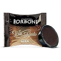 Caffè Borbone Don Carlo Miscela Nera - Confezione da 100 Capsule - Compatibili con macchine a marchio Lavazza®* A Modo Mio®*