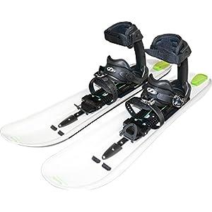 Crossblades Schneeschuhe Tourenski-System zum Schnee-Wandern inkl. Wendeplatte für Ski und Steigfell (Softboot)
