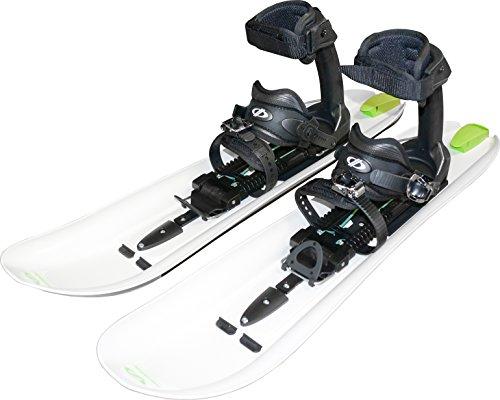 Crossblades Schneeschuhe Softboot - Neuartiges Schneeschuh System mit dem man Steigen, Fahren und Gleiten kann, ähnlich eines Tourenski - Komplett-Set mit Wendeplatte für Ski und Steigfell