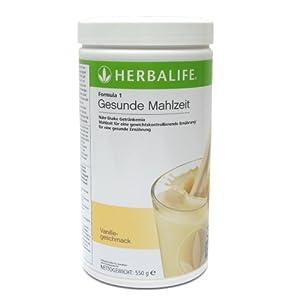 Herbalife Formula 1 Gesunde Mahlzeit Vanille 550 g