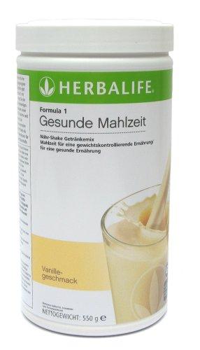HERBALIFE - Formula 1 - Nähr-Shake Getränkemix - Vanille