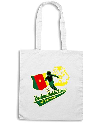 T-Shirtshock - Borsa Shopping WC0158 CAMEROON Bianco