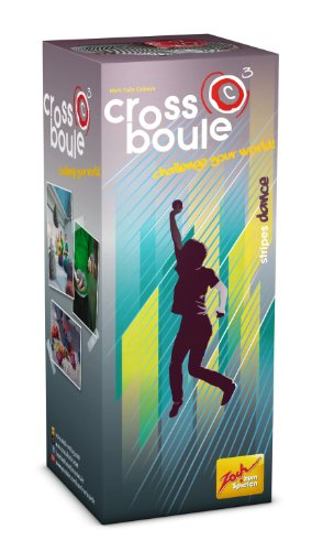 Noris Spiele Zoch 601105029 - Crossboule c³ Single Set - Stripes Dance