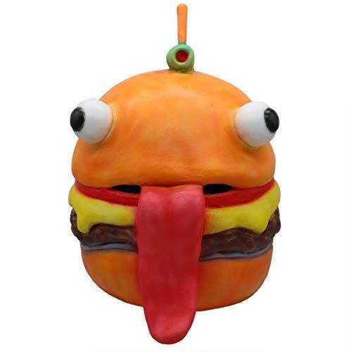 Yacn fortnite Durrr Burger Maske für Erwachsene Kostüm -