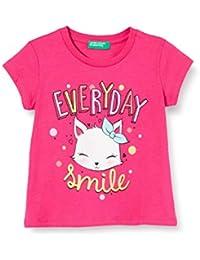 United Colors of Benetton T-Shirt Camiseta de Tirantes para Bebés