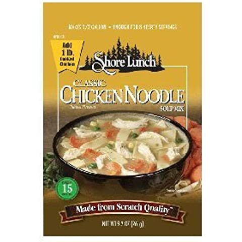 Shore Lunch B02437 Shore Lunch Mix Soup Chicken Noodle Classic -6x9.2oz by Shore Lunch