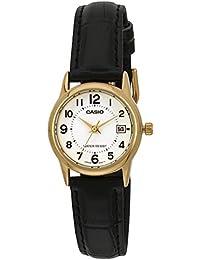 CASIO LTP-V002GL-7 - Reloj con movimiento cuarzo, para mujer, color blanco y negro