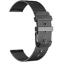 BarRan® Withings Activité Pop Correa, 18mm Milanese Ver Banda de liberación rápida de la correa de acero inoxidable reloj para Withings Activité Pop