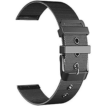 BarRan reg; Nokia Steel HR 40MM Bracelet, milanese Acier inoxydable de bande de montre