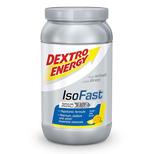 Ausdauer Getränke Pulver Fruit Mix | Iso Fast Dextro Energy | 1120g Hypotonisches Getränke Pulver mit Elektrolyte | Dextro Energy Pulver -