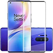 Al-HuTrusHi Oneplus 8 Pro Screen Protector,[Full Glue][3D Full Coverage][9H Hardness] [Scratch Resistant] Temp