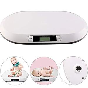 BALLSHOP Digitale Babywaage 20kg / 10g Kinderwaage Säuglingswaage Babyskala Waage