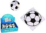 8er Set Magisches Zauber-Handtuch mit Fußball Motiv Waschlappen Kinder-Geburtstag Mitgebsel Geschenk-Idee Party Gewinn Spiel Give-aways Goodies (8er Set)