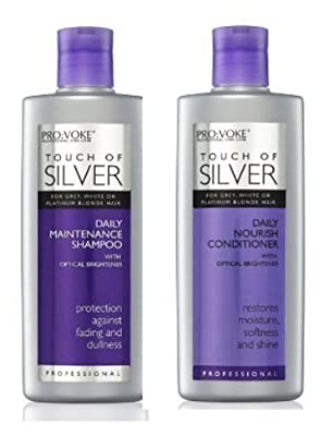 Touch Of Silver Shampoo 200 Ml & Conditioner 200Ml from Provoke