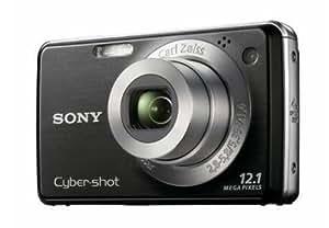 """Sony Cyber-Shot DSC-W210B Appareil photo compact numérique 12,1 Mpix Zoom Optique 4x Ecran LCD 2,7"""" Sortie HD Noir"""