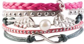USG Armband Infinity, pink