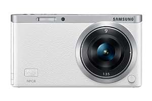 Samsung NX Mini Smart Systemkamera (20 Megapixel, 2-fach opt. Zoom, 7,5 cm (2,9 Zoll) Display, Full HD Video, bildstabilisiert, inkl. 9mm Objektiv) weiß
