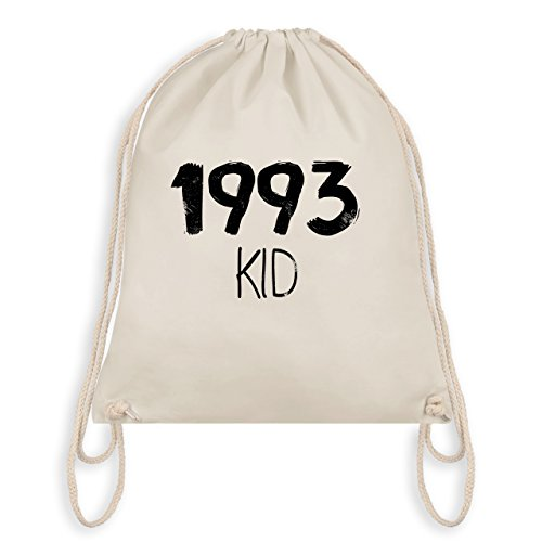 Compleanno - 1993 Kid - Borsa Da Palestra I Gym Bag Bianco Naturale
