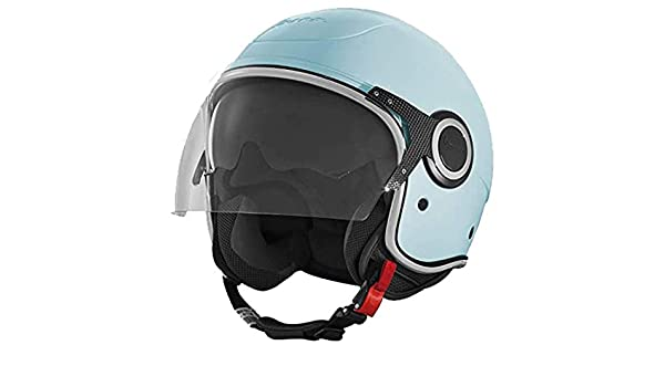 606416M04AZ helmet VJ Vespa 70th yearly blue 433 size L