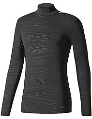 adidas Herren Techfit Long Sleeve Climawarm Mock T-Shirt