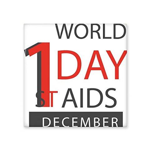 DIYthinker 1. Dezember Welt-AIDS-Tag Solidarität HIV-Bewusstsein Symbol Keramik Bisque Fliesen für Dekorieren Badezimmer-Dekor Küche Keramische Fliesen Wandfliesen L -