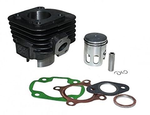 Zylinder Kit 50ccm AC luftgekühlt 12mm Pin gerader Flansch für liegende CPI Motoren