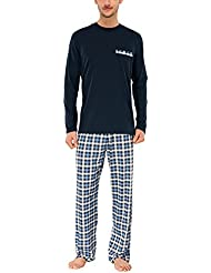 Schiesser - Ensemble de pyjama - Manches longues Homme