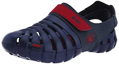 Lee Cooper Men's Navy and Red Casual Clogs and Mules - 10 UK