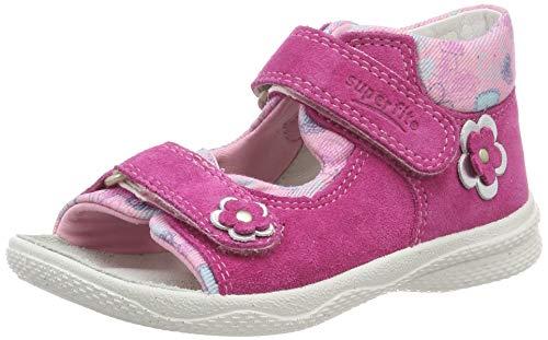Superfit Baby Mädchen Polly Sandalen, Pink (Rosa 55), 25 EU