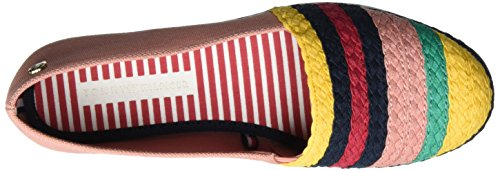 Tommy Hilfiger Y1285ork 1s, Mocassins Femme Rose (Rose Dawn-old Gold 901)