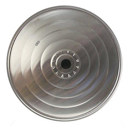 Haube Abdeckung Vent (Aluminiumdeckel mit Knopf 36cm)