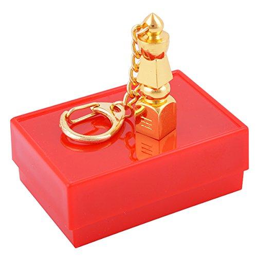 Five Element Pagoda Feng Shui Keychain W Free Mxsabrina Red String Bracelet W1175