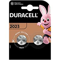 Duracell D2025 Procell Lithium Battery, 3V, Pack of 2