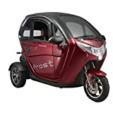VELECO 3 Wheel Electric Vehicle Electric Mobility Scooter Double Electric Car 45km/h Red