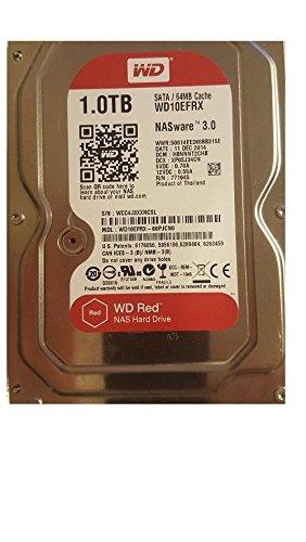 WD Red - Disco duro para dispositivos NAS de sobremesa de 1 TB (Intellipower, SATA a 6 Gb/s, 64 MB de caché, 3,5') rojo