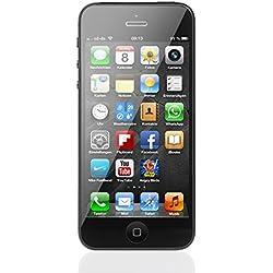 Apple iPhone 5 Noir 16GB Smartphone Débloqué (Reconditionné)