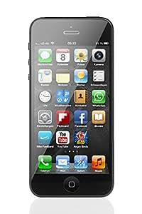 "Apple iPhone 5, 4"" Display, SIM-Free, 16 GB, 2012, Schwarz (Generalüberholt)"