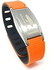 Ionen Armband, negativ Ion Sport Magnetarmband aus Silikon für die Gesundheit, Magnet Power Balance Energie Armband für Damen und Herren