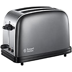 Russell Hobbs couleurs plus 2 tranches Grille-pain - Gris