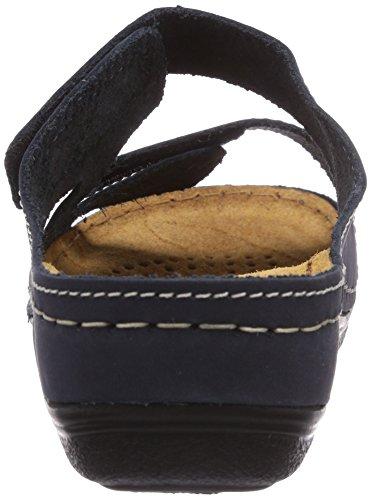 Marco Tozzi Premio 27506 Damen Offene Sandalen mit Keilabsatz Blau (Navy / 805)