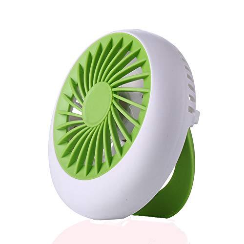 TYX-Creative QH home Mini-Ventilator tragbarer USB-Handventilator Kreativer Tischventilator klein,Green
