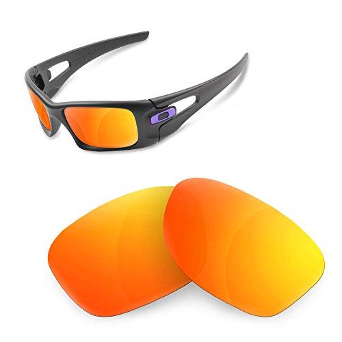 sunglasses restorer Kompatibel Ersatzgläser für Oakley Crankase, Polarized Fire Iridium Gläser